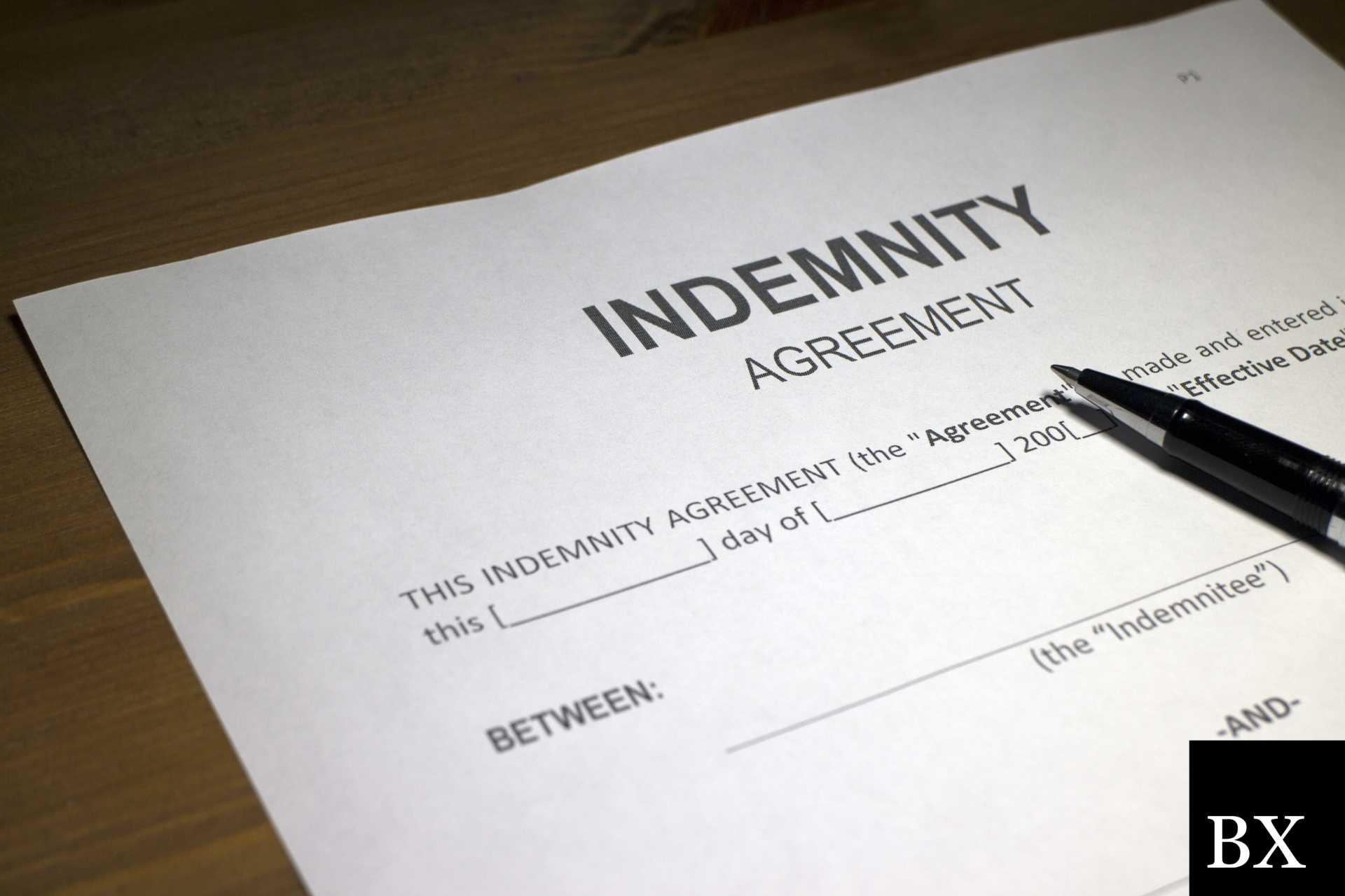 Indemnity Agreement